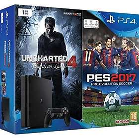 Sony PlayStation 4 Slim 1TB (+ Uncharted 4 + PES 2017)