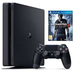 Sony PlayStation 4 Slim 1To (+ Uncharted 4: A Thief's End)