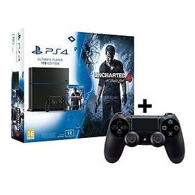 Sony PlayStation 4 (PS4) 1To (+ Uncharted 4 + 2nd DualShock 4)