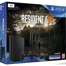 Sony PlayStation 4 Slim 1To (+ Resident Evil 7)