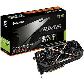 Aorus GeForce GTX 1080 Xtreme Edition HDMI 3xDP 8GB