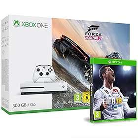 Microsoft Xbox One S 500Go (+ Forza Horizon 3 + Fifa 17)