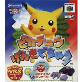 Pikachu Genki Dechuu (JPN) (N64)