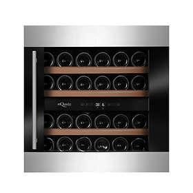 mQuvée WineMaster 36D Modern (Black/Stainless Steel)
