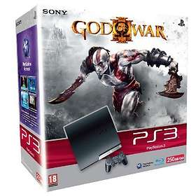 Sony PlayStation 3 Slim 250Go (+ God Of War III)