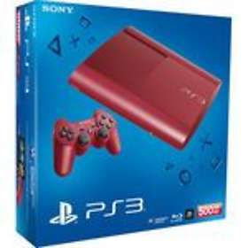 Sony PlayStation 3 Slim 500Go - Red Limited Edition