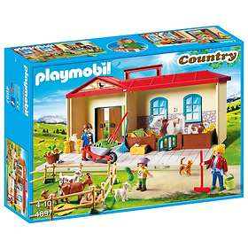 Nouveautés Playmobil 4897 le ferme transportable Playmobil Country