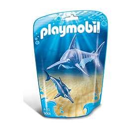 Playmobil Family Fun 9068 Swordfish with Baby