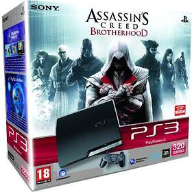 Sony PlayStation 3 Slim 320Go (+ Assassin's Creed: Brotherhood)