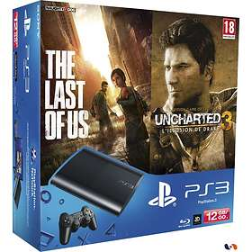 Sony PlayStation 3 Slim 12Go (+ The Last of Us + Uncharted 3)