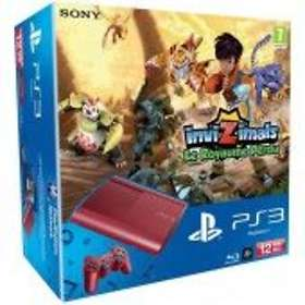 Sony PlayStation 3 Slim 12Go (+ Invizimals: The Lost Kingdom) - Red Limited