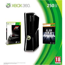 Microsoft Xbox 360 Slim 250Go (+ Forza 3 + Alan Wake)