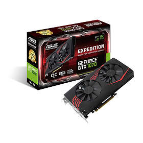 Asus GeForce GTX 1070 Expedition OC 2xHDMI 2xDP 8GB