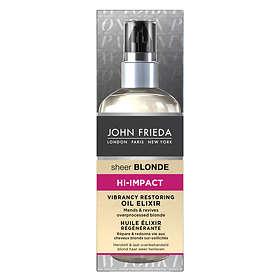 John Frieda Sheer Blonde Hi Impact Vibrancy Restoring Oil Elixir 100ml
