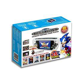 AtGames Sega Genesis Ultimate Portable Game Player - Sonic 25th Anniversary