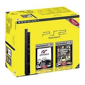 Sony PlayStation 2 Slim (+ Gran Turismo 4 + GTA: San Andreas)