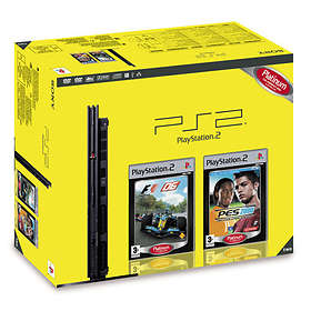 Sony PlayStation 2 Slim (+ Formula One 06 + Pro Evolution Soccer 2008)