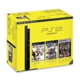 Sony PlayStation 2 Slim (+ Sly 3 + Dog's Life + Ratchet: Gladiator)