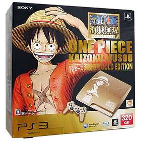 Sony PlayStation 3 Slim 320Go (+ One Piece) - Gold Edition (Japan-import)