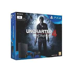 Sony PlayStation 4 Slim 1To (+ Uncharted 4 + 2nd DualShock 4)