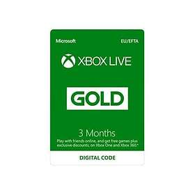 Microsoft Xbox Live Gold 3 Month Card + Bonus DLC - Tom Clancy's The Division