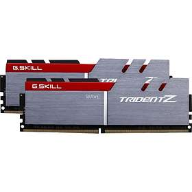 G Skill Trident Z Silver/Red DDR4 PCPC28800/3600MHz CL16 2x16GB