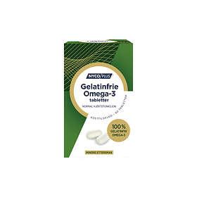 Nycomed Nycoplus Omega-3 Gelatinfrie 60 Kapslar