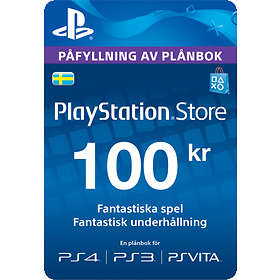 Sony PlayStation Network Card - 100 SEK