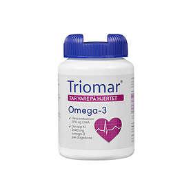 Triomar Hjerte Omega-3 90 Kapslar