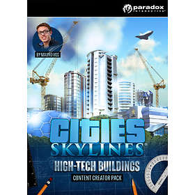 Cities: Skylines Extension: Content Creator Pack: High-Tech Buildings