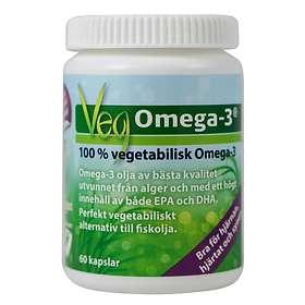 Omnisym Pharma Veg Omega-3 60 Kapslar