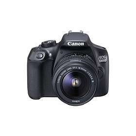 Canon EOS 1300D + 18-55/3 5-5 6 IS II + 55-250/4 0-5 6 IS STM