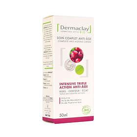 Dermaclay Activ Crème Intensive Triple Action Anti-âge Crème de Jour 50ml