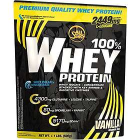 All Stars 100% Whey Protein 0.5kg