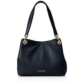 62bbe8bd993ac Find the best price on Michael Kors Raven Large Leather Shoulder Bag ...