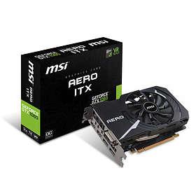 MSI GeForce GTX 1060 Aero ITX OC 2xHDMI 2xDP 3Go