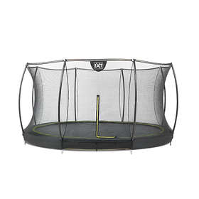 Exit Silhouette Ground with Safety Net 366cm