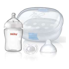 Nuby Natural TouchCompact Mini Microwave Sterilizer