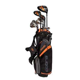 Cobra Golf King Jr (7-9Yrs) with Carry Stand Bag