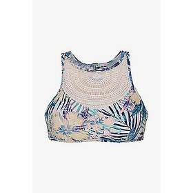 b8ec3f18da567 Find the best price on Roxy Sea Lovers Crop Top Crochet Bikini Top ...