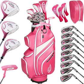 TecTake Ladies Complete 13 with Cart Bag