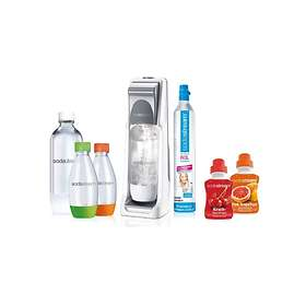 SodaStream Cool Super-Spar-Pack (Con Carbonatore & 2x1L PET Bottiglie & 2x0,5L P