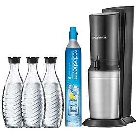 SodaStream Crystal Super-Spar-Pack (inkl. patron & 3x0,6L flasker)