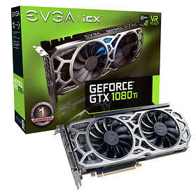 EVGA GeForce GTX 1080 Ti SC2 Gaming ICX HDMI 3xDP 11GB