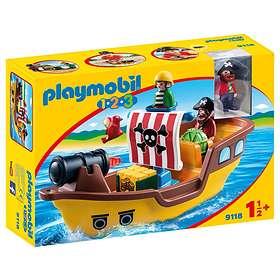 Playmobil 1.2.3 9118 Piratskepp