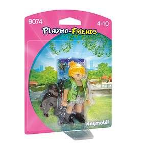 Playmobil Playmo-Friends 9074 Djurskötare med Gorillababy