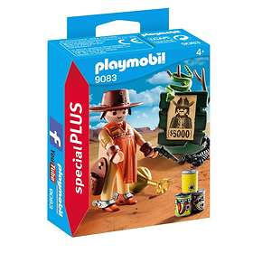 Playmobil Special Plus 9083 Cowboy med Efterlyst-affisch