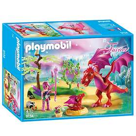 Playmobil Fairies 9134 Snäll Drake med Unge