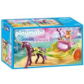 Playmobil Fairies 9136 Älvvagn Som Dras Av Enhörningar