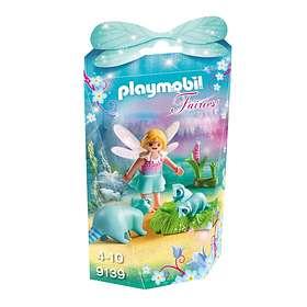 Playmobil Fairies 9139 Älvflicka med Tvättbjörnar